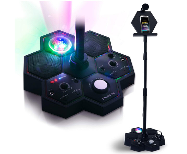 Singsation All-in-one Karaoke System and Party Machine