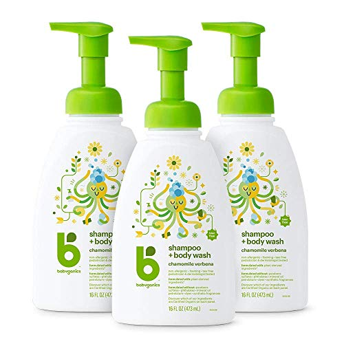 Babyganics Baby Shampoo & Body Wash