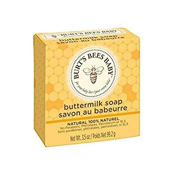 Burt's Bees Baby Buttermilk Soap, 100% Natural Baby Soap Bar