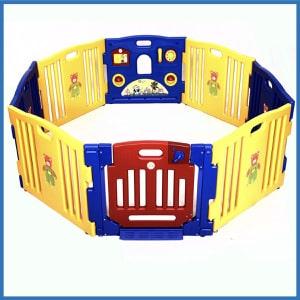 Costzon-Baby-Playpen-Fences