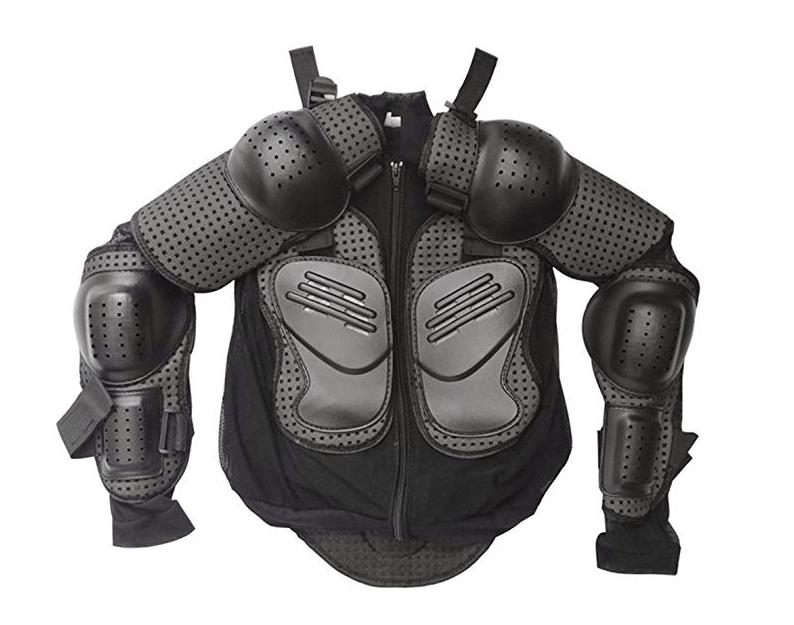 TDPRO Kids Full Body Armor Protective Jacket