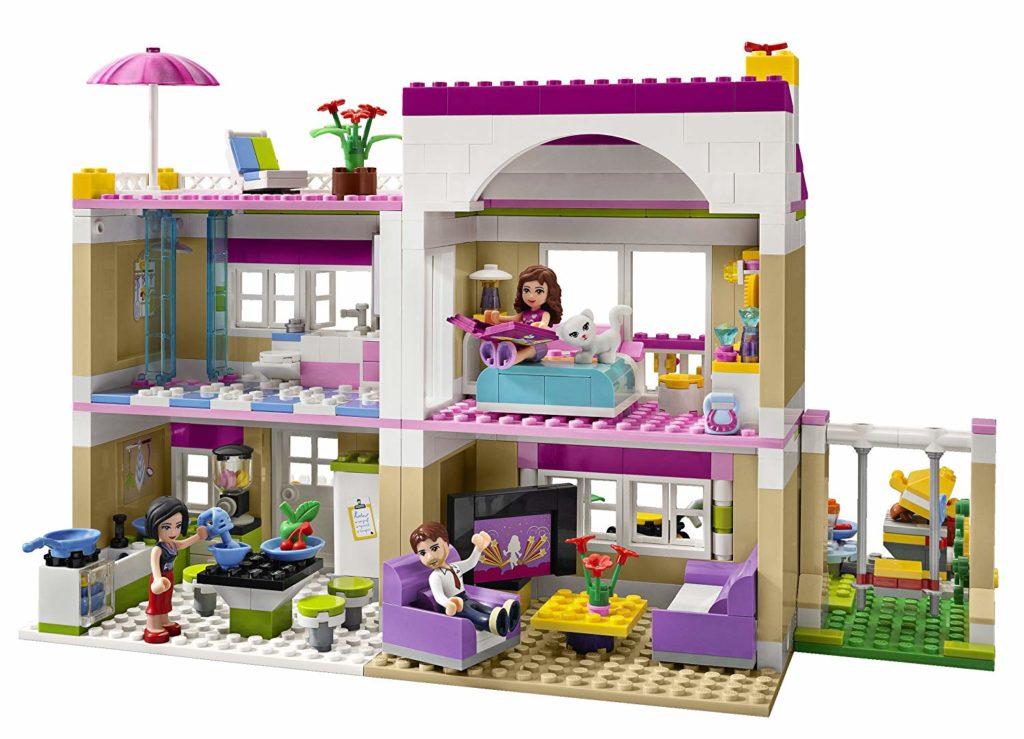 Lego Friends Olivia's House1