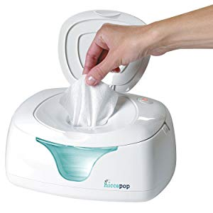 Hiccapop Wipe Warmer and Baby Wipes Dispenser-Holder