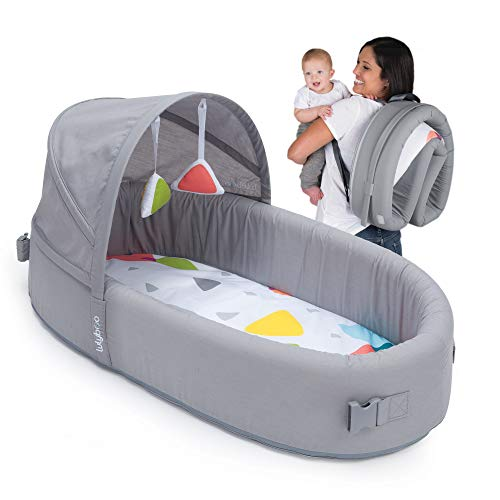Lulyboo Bassinet to Go Softest Bassinet Sleeper