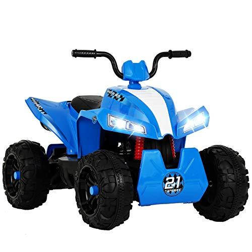 UENJOY 12V KIDS ATV 4 WHEELER RIDE-ON QUAD