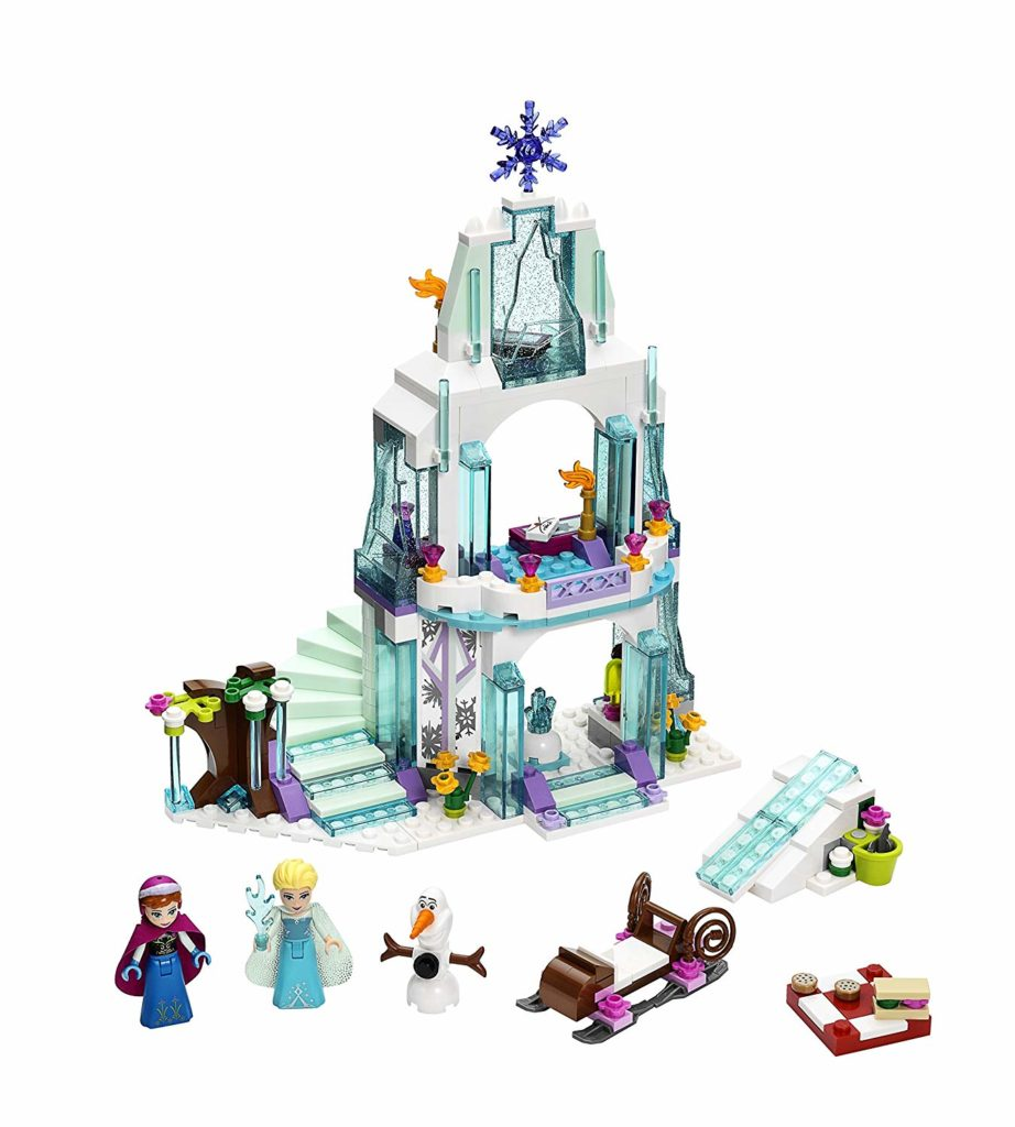 Disney Princess Elsa's Sparkling Ice Castle1