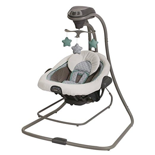 Graco DuetConnect LX Swing and Bouncer, Manor, One Size